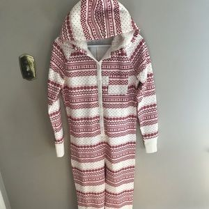 Abercrombie and Fitch Knit Onesie